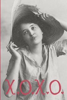 Paperback X. O. X. O. : Valentine's Day Gift - Blush Notebook in a Cute Design - 6 X 9 (15. 24 X 22. 86 Cm) Book
