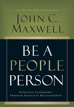 Be a People Person 1564762645 Book Cover