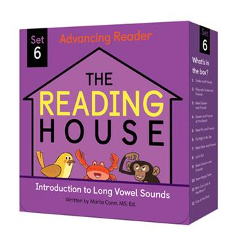Paperback The Reading House Set 6: Introduction to Long Vowel Sounds Book