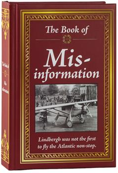 Hardcover The Book of Mis-Information Book
