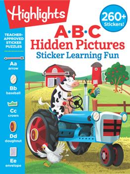 Paperback ABC Hidden Pictures Sticker Learning Fun Book