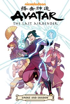 Avatar: The Last Airbender - Smoke and Shadow - Book #4 of the Avatar: The Last Airbender Comics