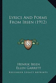 Paperback Lyrics and Poems from Ibsen Book