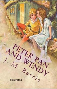 Paperback Peter Pan Illustrated Book