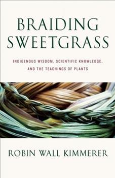 Hardcover Braiding Sweetgrass Book