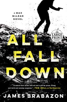 Paperback All Fall Down [Large Print] Book