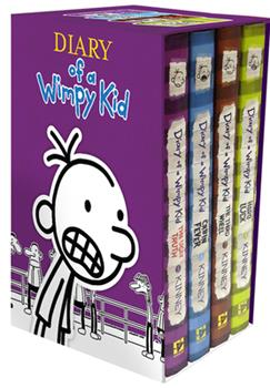 Hardcover Diary of a Wimpy Kid Box of Books 5-8 Book