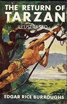 Paperback The Return of Tarzan Illustrated Book