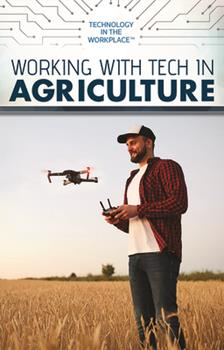 Library Binding Working with Tech in Agriculture Book