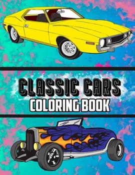 Paperback Classic Cars Coloring Book