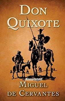 Paperback Don Quixote Annotated Book