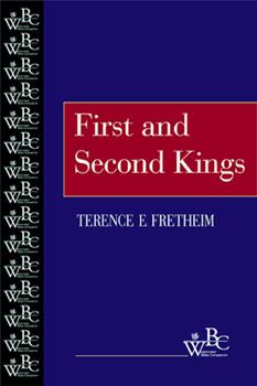 First and Second Kings (Westminster Bible Companion) 0664255655 Book Cover