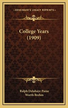 Hardcover College Years Book
