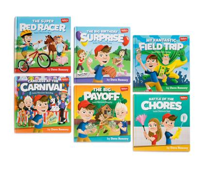 Hardcover Junior's Adventures: Storytime Book Set: Teaching Kids How to Win with Money! Book
