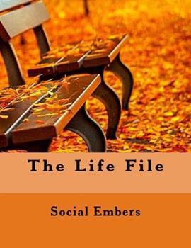 Paperback The Life File: Large print version [Large Print] Book