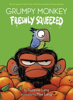 Hardcover Grumpy Monkey Freshly Squeezed: A Graphic Novel Chapter Book