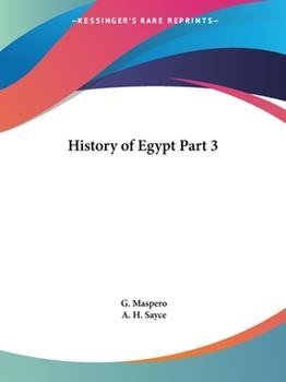 Paperback History of Egypt Part 3 Book