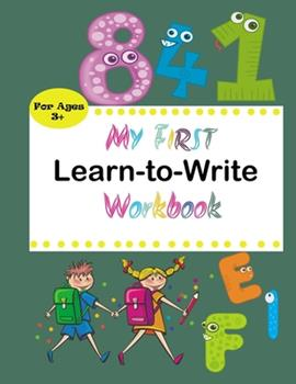 Paperback My First Learn to Write Workbook: Practice for Kids with Pen Control, Line Tracing, Letters, and More! (Kids coloring activity books) [French] Book