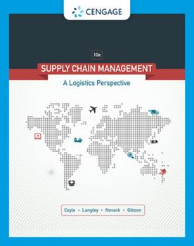 Supply Chain Management: A Logistics Perspective (with Student CD-ROM) 0324376928 Book Cover