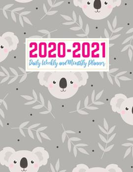 Paperback 2020-2021 Daily Weekly and Monthly Planner: Simple Two Year Jan 1, 2020 - Dec 31, 2021 Calendar Organizer and Appointment Schedule Agenda Journal for ... - 24 Months Planner - Creative AG 0027 Book