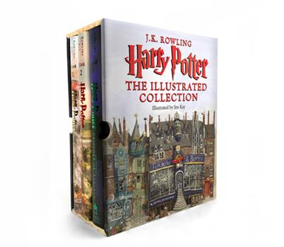 The Harry Potter trilogy: The Philosopher's Stone; The Chamber of Secrets; The Prisoner of Azkaban - Book  of the Harry Potter