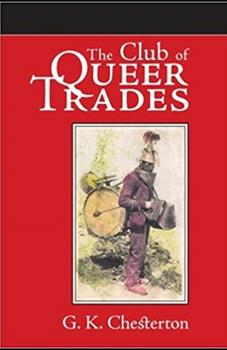 Paperback The Club of Queer Trades Illustrated Book