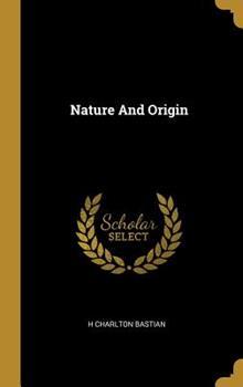 Hardcover Nature and Origin Book