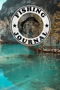 Paperback Fishing Journel: Fishing Notebook/Log Book