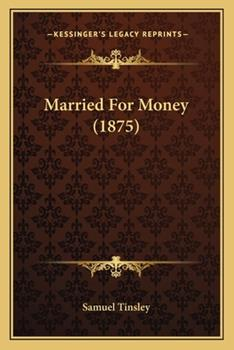 Paperback Married for Money Book