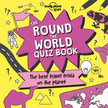 Paperback The Round the World Quiz Book