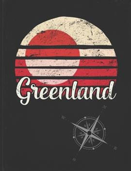 Paperback Greenland : Greenlander Vintage Flag Personalized Retro Gift Idea for Coworker Friend or Boss 2020 Calendar Daily Weekly Monthly Planner Organizer Book