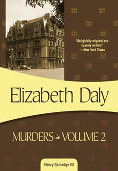 Murders In Volume Two 1933397012 Book Cover
