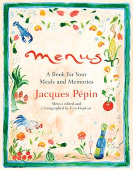 Menus: A Book for Your Meals and Memories 1328497666 Book Cover