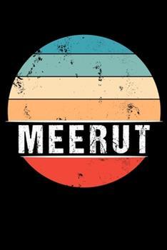 Paperback Meerut : 100 Pages 6 'x 9' -Dot Graph Paper Journal Manuscript - Planner - Scratchbook - Diary Book