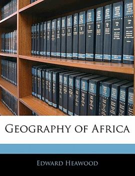 Paperback Geography of Afric Book