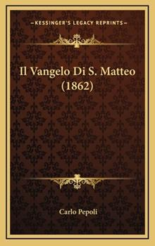 Hardcover Il VanGelo Di S Matteo Book