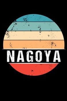 Paperback Nagoya : 100 Pages 6 'x 9' - Dot Grid Paper Journal Manuscript - Planner - Scratchbook - Diary Book