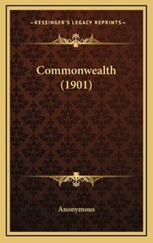 Hardcover Commonwealth (1901) Book