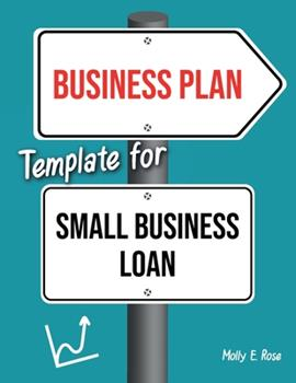 Paperback Business Plan Template For Small Business Loan Book