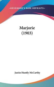 Hardcover Marjorie (1903) Book