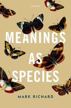 Meanings as Species 0198842813 Book Cover