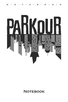 Paperback Parkour City Notebook : Annual Calendar for Athletes and Fitness Enthusiasts Book