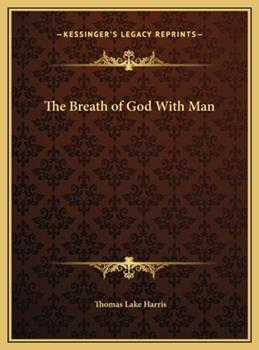 Hardcover The Breath of God with Man Book