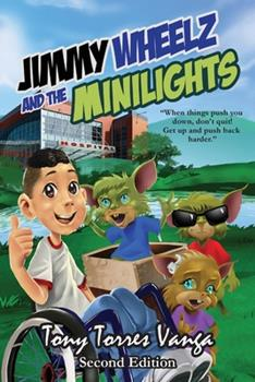 Paperback Jimmy Wheelz and the Minilights Book