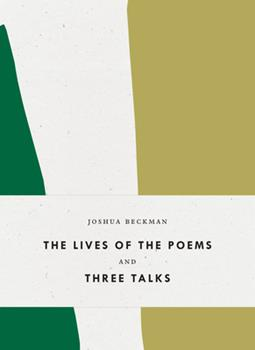 The Lives of the Poems / 3 Talks 1940696429 Book Cover