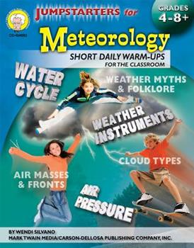 Paperback Jumpstarters for Meteorology, Grades 4 - 8 Book