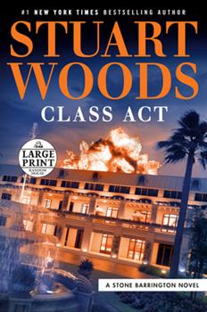 Paperback Class ACT [Large Print] Book