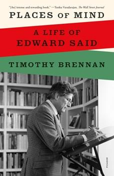 Paperback Places of Mind: A Life of Edward Said Book