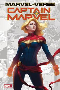 Marvel-Verse: Captain Marvel 1302926845 Book Cover