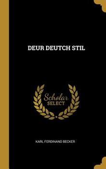 Hardcover Deur Deutch Stil [German] Book